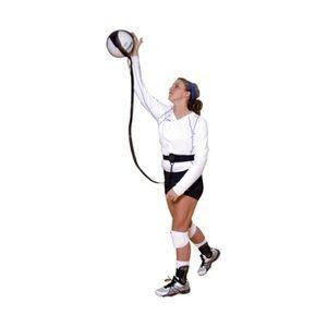 Volleyball serve practice